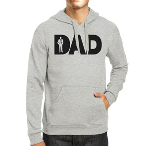Dad Business Grey Unisex Unique Design Hoodie - Tokhore