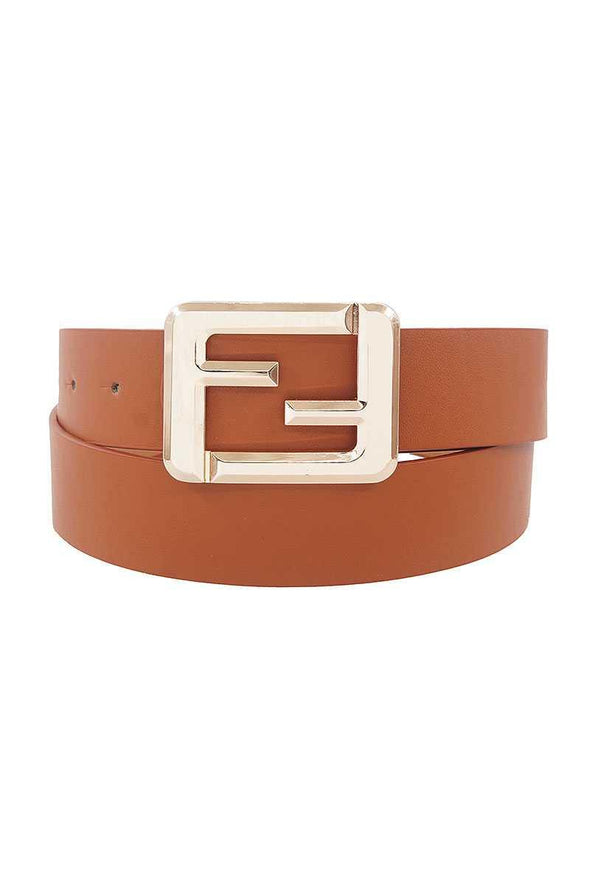 Fashion Square Letter Buckle Belt - Tokhore