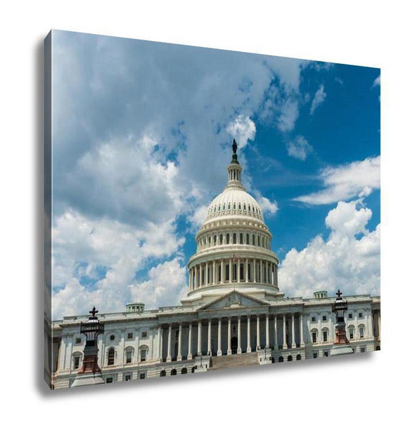 Gallery Wrapped Canvas, Capitol Building Us Capital Building Washington Dc - Tokhore