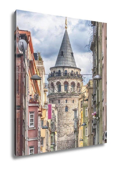 Gallery Wrapped Canvas, Istanbul Galata Tower - Tokhore