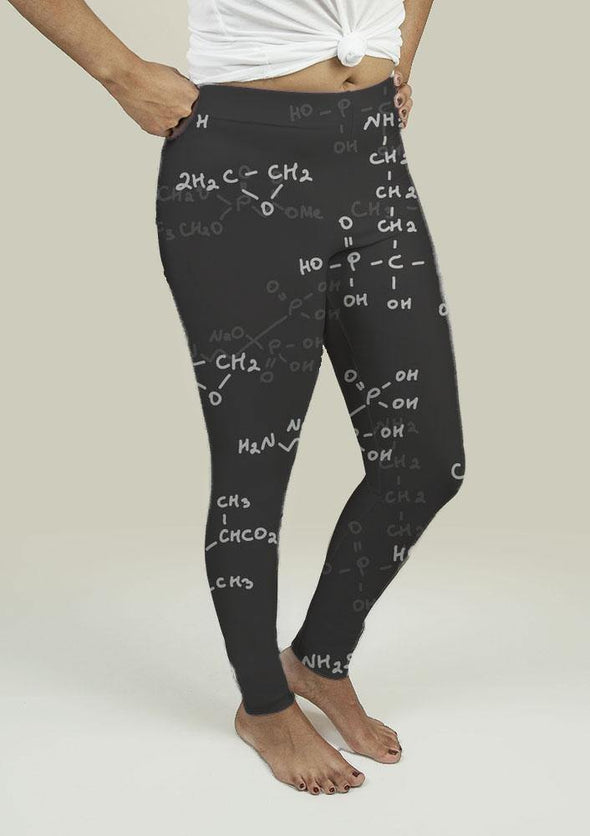 Leggings with Seamless pattern - Tokhore