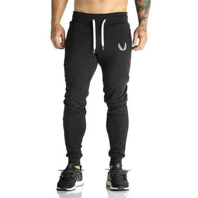 Men's outdoor sports feet casual pants stretch slim pants - Tokhore