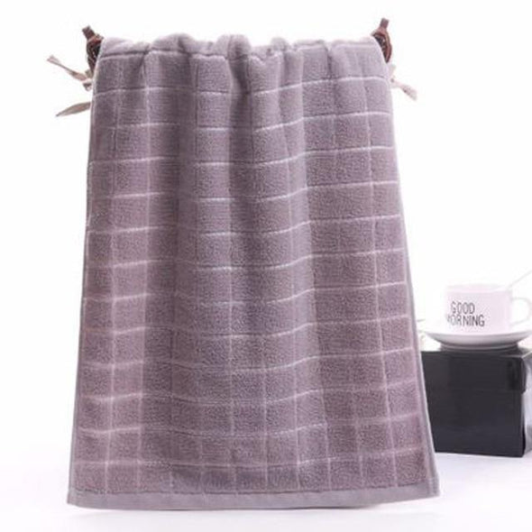 Plaid 100% Cotton Kitchen Hair Hand Hotel Beach Spa Bath Face Towel Thick Soft For Adults Kids Home asciugamani handdoeken - Tokhore