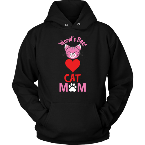 World's Best Cat Mom Hoodie - APlusCat