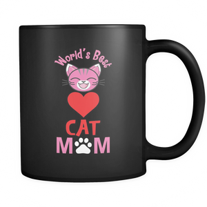 World's Best Cat Mom Mug 11oz - APlusCat