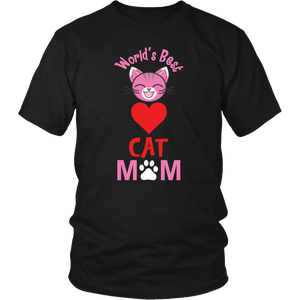 World's Best Cat Mom Shirt - APlusCat