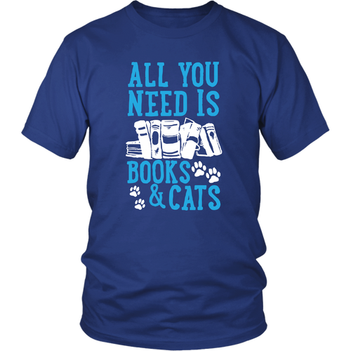 All you Need is Books & Cats - APlusCat