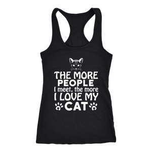 The More I Love My Cat - APlusCat