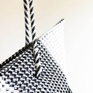 Cosmo Large Tote | Black & White