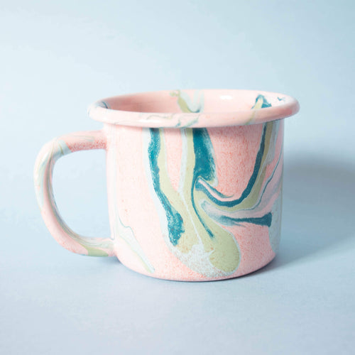 Fairtrade Marble Blush Mug