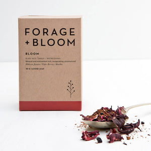 Bloom (Hibiscus Flowers, Eldber Berries & Rooibos) Herbal Infusion