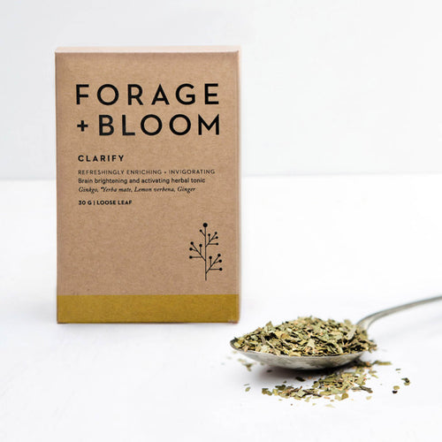 Clarify (Gingko, Yerba Mate, Lemon Verbena & Ginger) Herbal Infusion