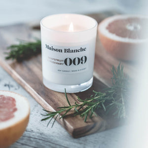 Grapefruit and Rosemary Eco Candle