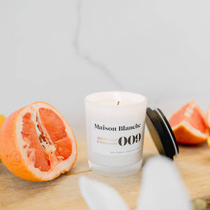 Grapefruit and Rosemary Australian Soy Wax Candle