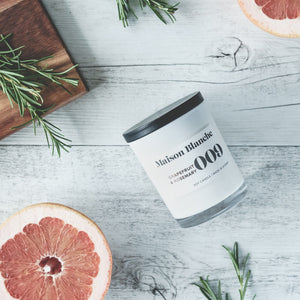 Grapefruit and Rosemary Soy Wax Candle