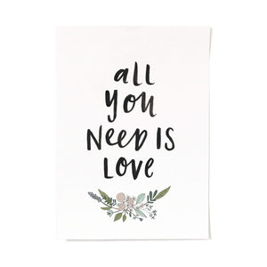 All You Need Is Love Australian Artwork