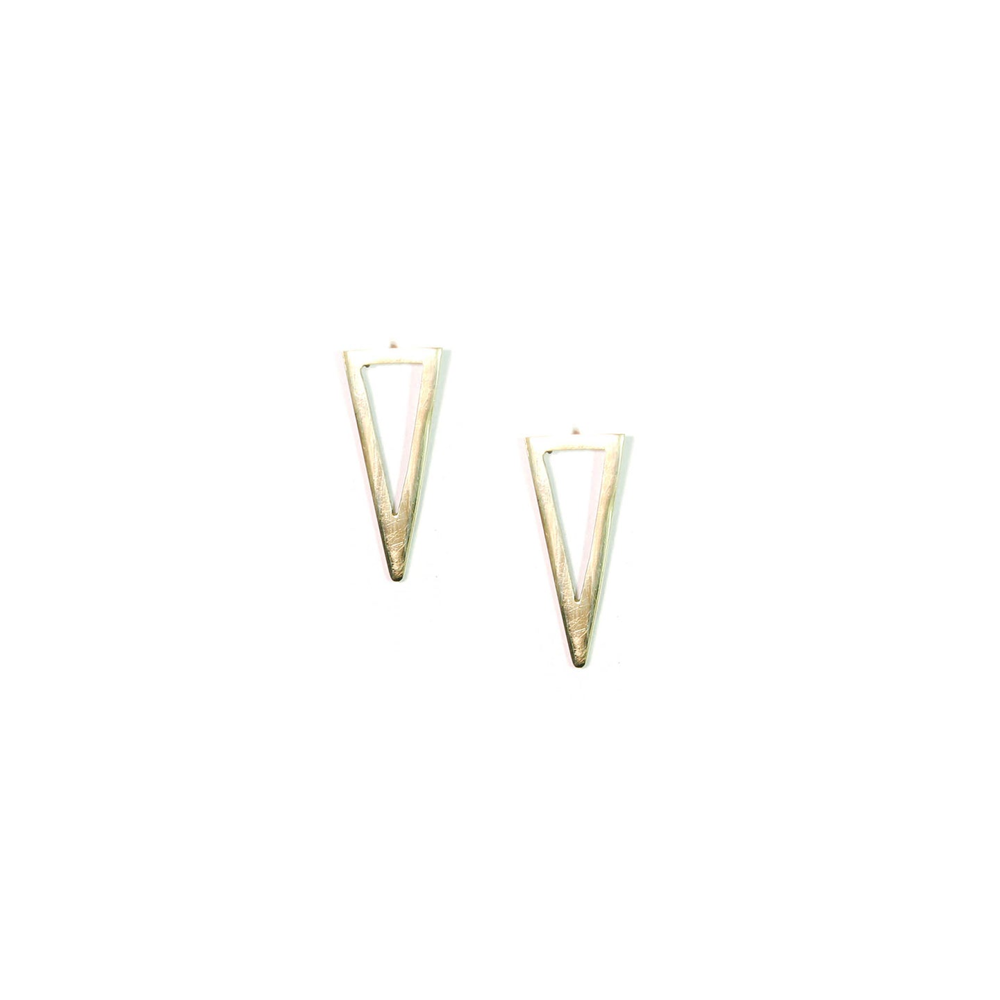 Iso Triangle Studs