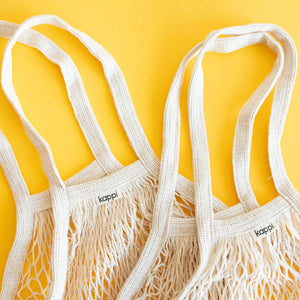 Reusable Grocery Bag - Organic Cotton 2 Pack