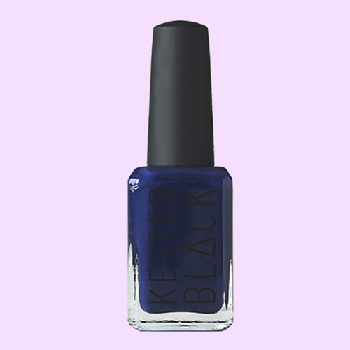 Ethically Made Dark Blue Nail Polish