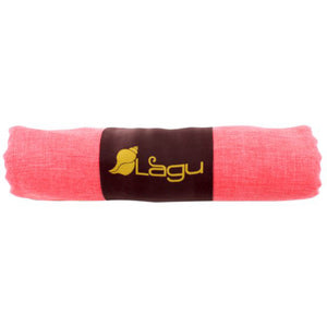 Coral Pink Eco Friendly Beach Blanket