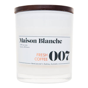 007 Fresh Coffee Candle