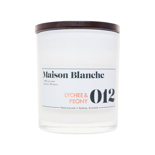 012 Lychee & Peony Candle