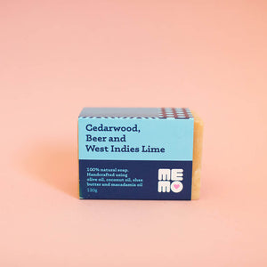 Cedarwood, Beer & West Indies Lime Soap