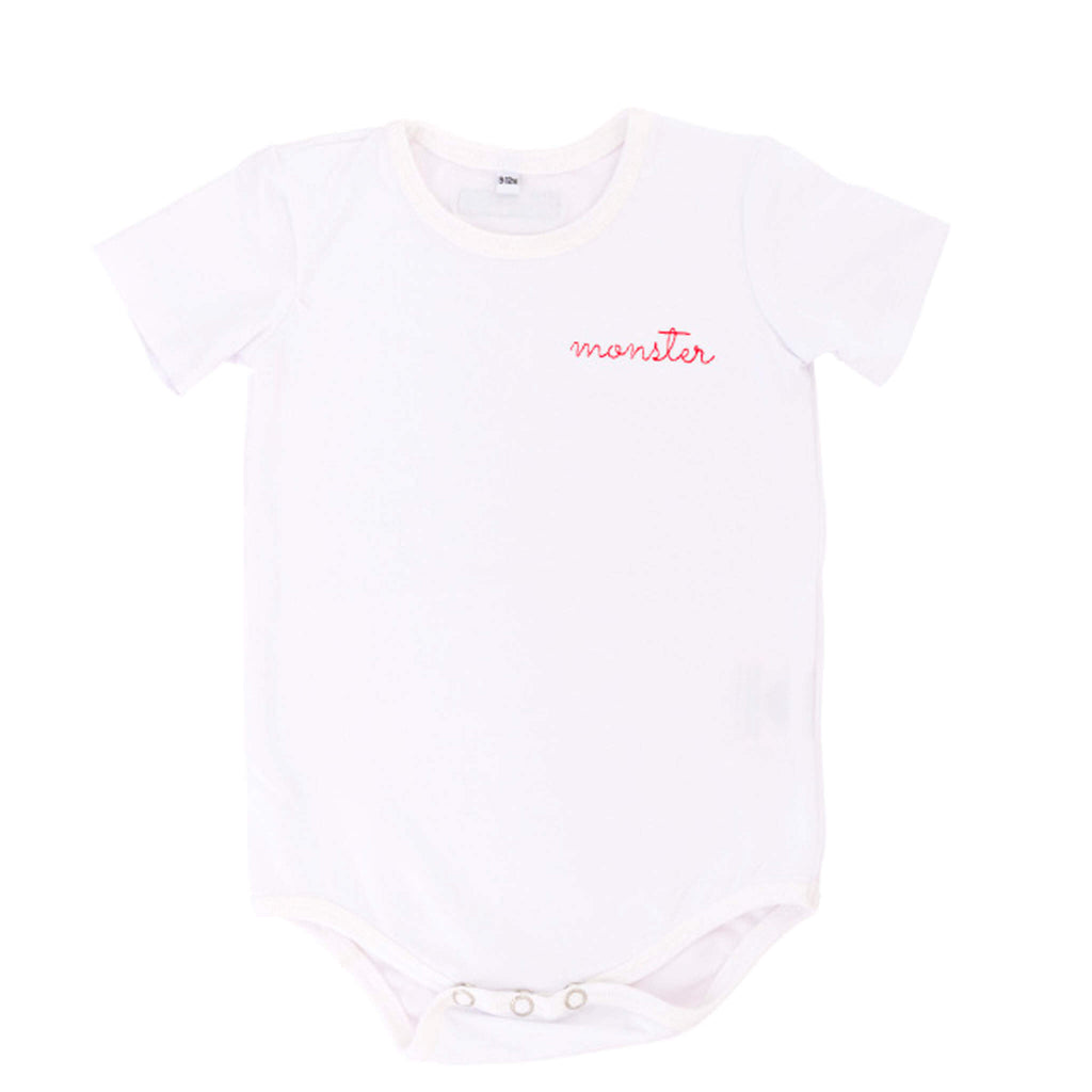 'Monster' Organic Baby Onesie