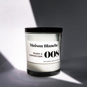 Peony and Peppercorn Eco Candle
