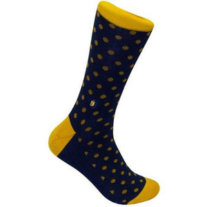 Socks That Give Books (Polka Dots)