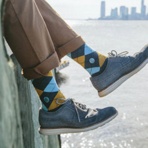 Socks That Give Water (Argyle)