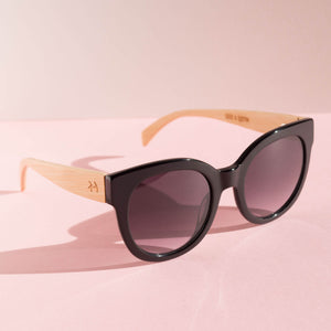 Coast - Black Gloss Sunglasses