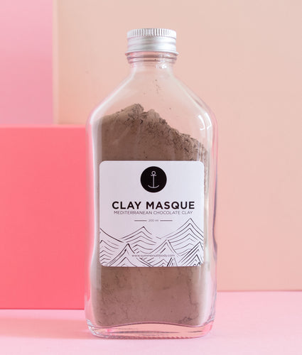 Mediterranean Chocolate Clay Face Masque