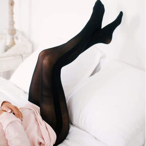 50 Denier Black Eco Friendly Stockings
