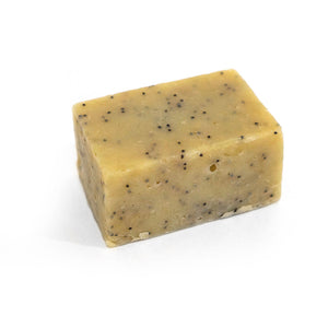 Sweet Lemon Grass, Basil and Poppy Seed Soap