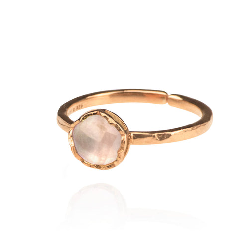 Dosha Ring - Rose Gold - Rose Quartz
