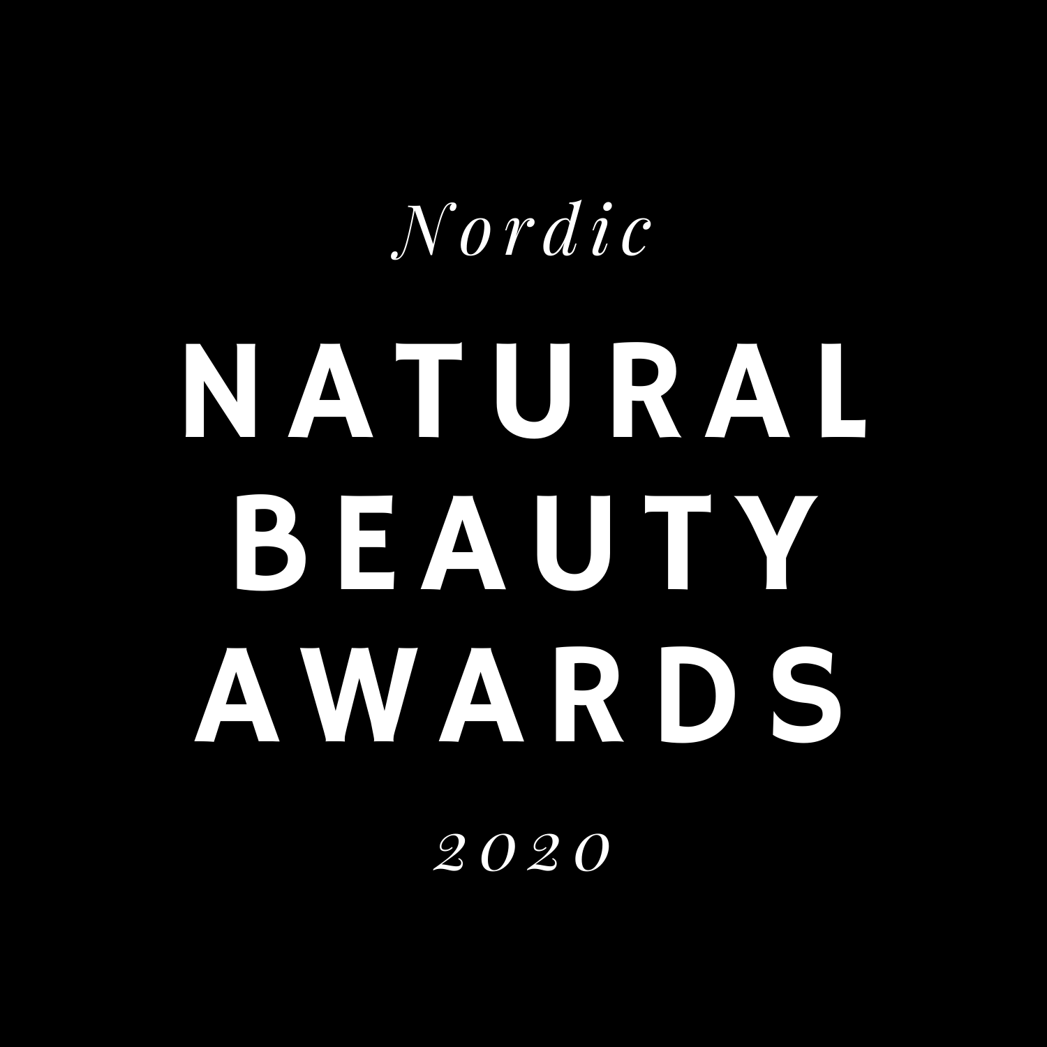 The winner of Nordic Natural Beauty Awards