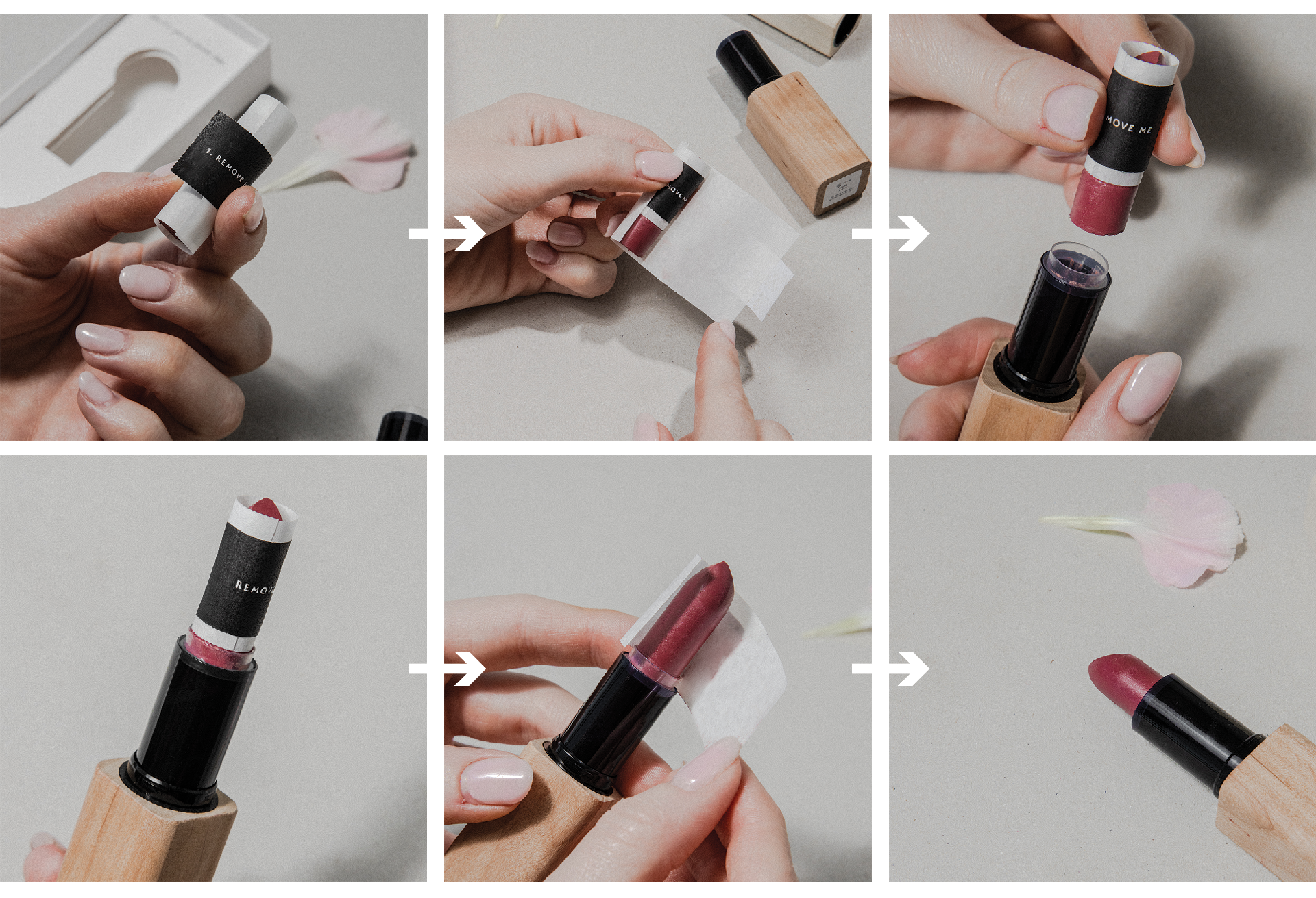 How to use HAVU lipstick refill