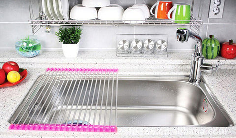 Roll Up Silicone Drying Rack – goalshopper