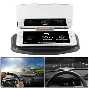 Universal Car Phone HUD Navigation Display Holder
