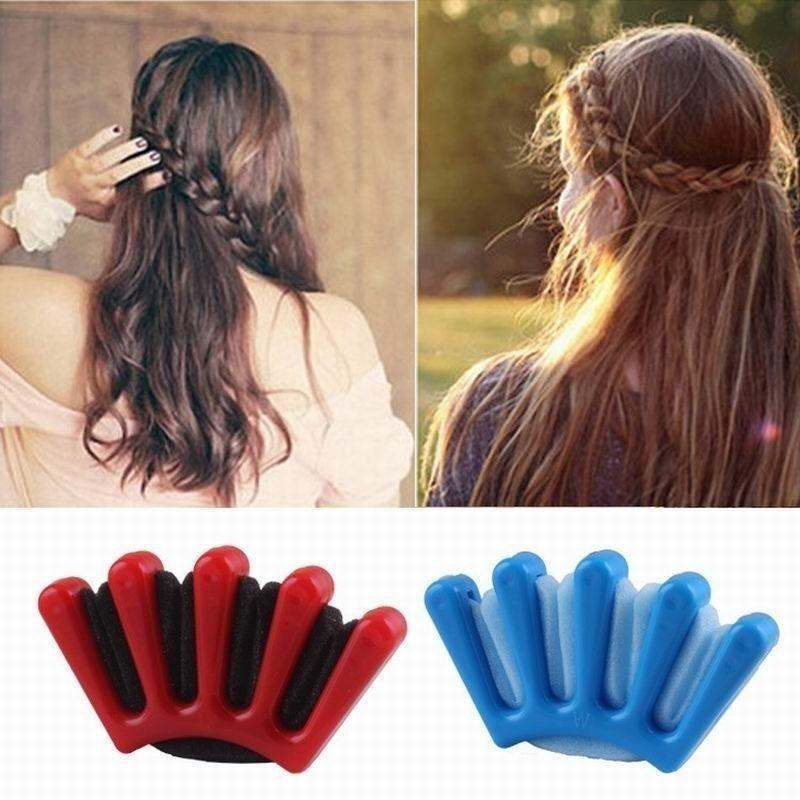Hair Braid Stylist Sponge