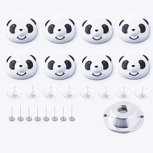 Panda Duvet Cover Clips Set