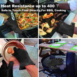 Heat-Resistant Silicon Glove