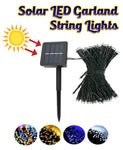 Solar LED Garland String Lights