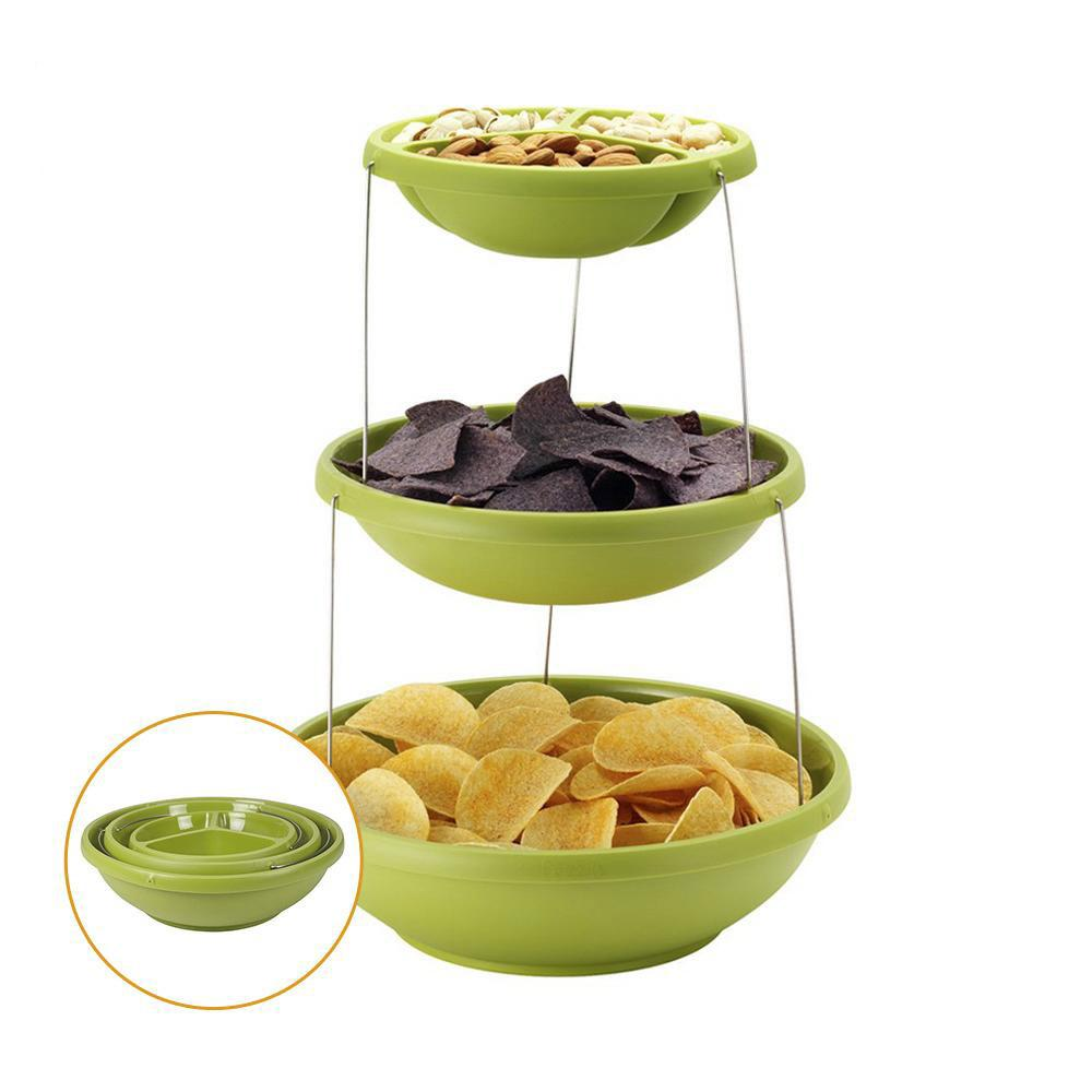 3-tiers Twisted Party Bowl