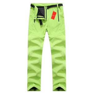 Women Waterproof Softshell Outdoor Pants