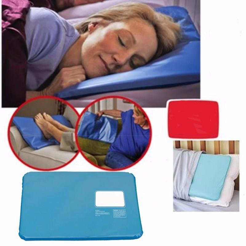 Cooling Ice Pillow Insert Pad Mat Aid Sleeping