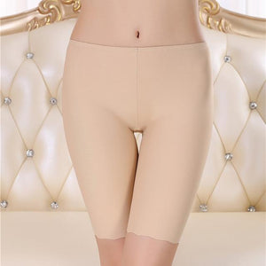 Women Ice Silk Seamless Short
