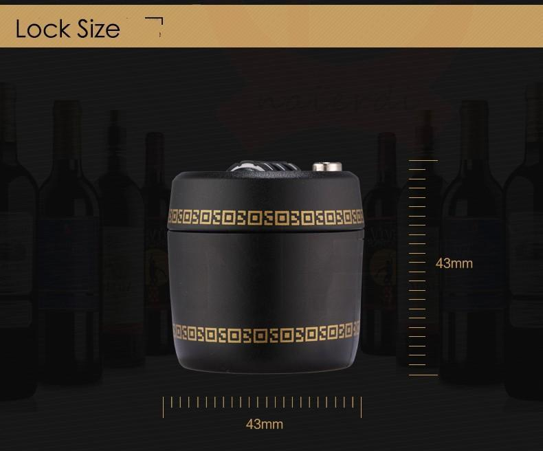 Wine & Liquor Bottle Lock