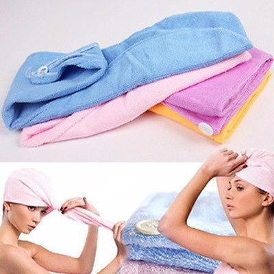 Magic Hair-Drying Towel